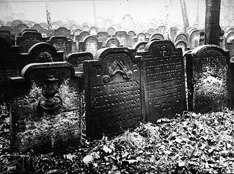 Jüdischer Friedhof Große Hamburger Straße (c) CJ